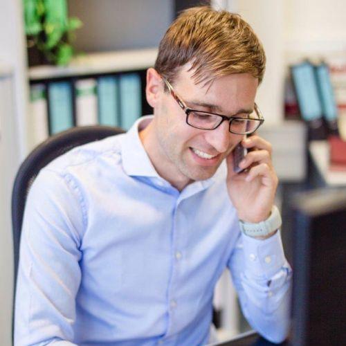 Mitarbeiter André Markert