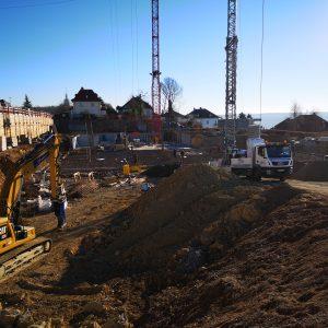 Der Rohbau geht voran. Vorbereitung Bodenplatte Teil 2 zum Betonieren fast abgeschlossen.