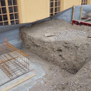 Fundamentierung für Balkonanlagen