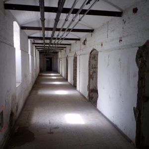 Leitungsverzug im Keller.